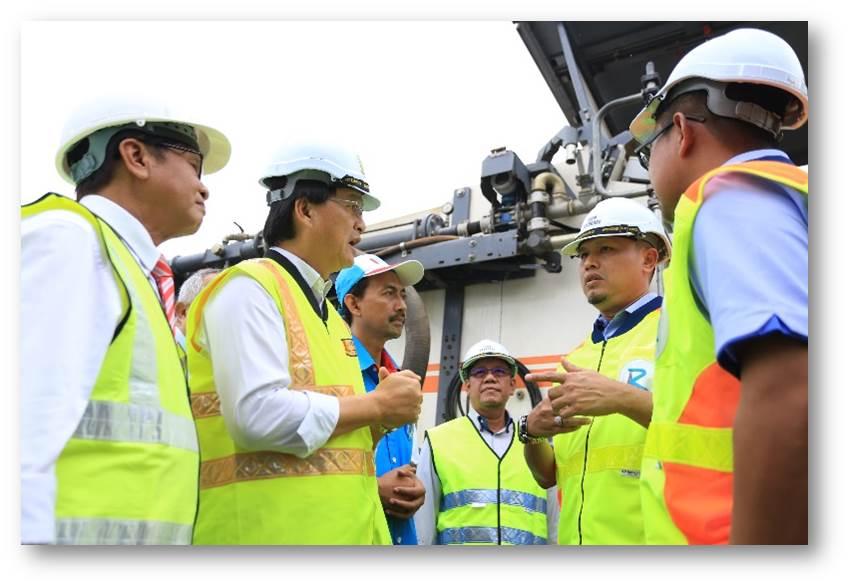 Lawatan Kerja YB Menteri Kerja Raya ke Kawasan DUN Sg. Kandis