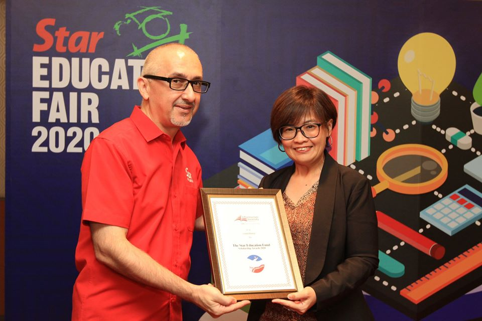 IUKL AS PARTNER-IN-EDUCATION FOR THE STAR EDUCATION FUND 2020