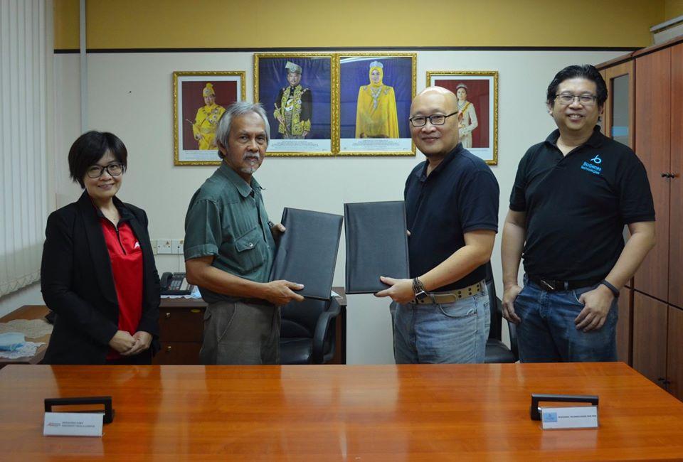 GRANT AWARDED TO IUKL AND BIOGENES TECHNOLOGIES SDN BHD